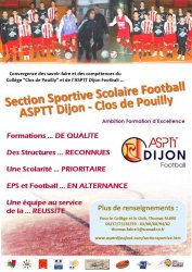 Section Sportive Scolaire Football {JPEG}